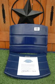 Texas Stadium Seat 11 Dallas Cowboys NFL Danny White