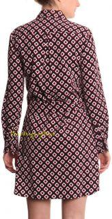 Diane Von Furstenberg Laney Corduroy Square Shirt Dress
