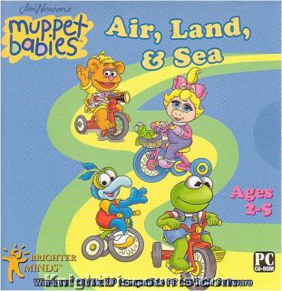 Muppet Babies 3X Pack PC Kids Software Ages 2 5 New