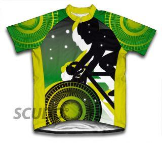 Green Lanter Biker Cycling Jersey All Sizes Bike