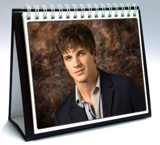 Matt Lanter 2013 Desktop Holiday Calendar 90210 Liam Court