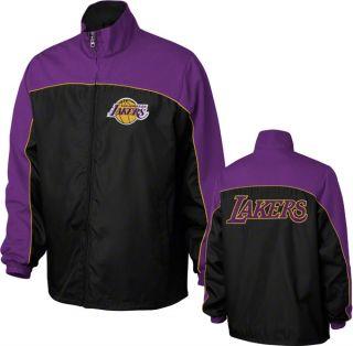 Los Angeles Lakers Purple Blitz Mesh Overlay Jacket