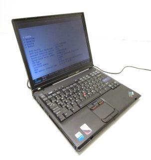 4X IBM ThinkPad T42 T41 Laptops 1 60 1 70GHz Pentium M 512MB PC 2700