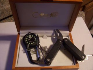 Colibri Boyscouts Clip Pocket Watch Free Swis Army Tool $120 Gift