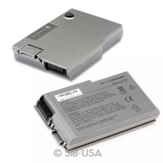 Battery for Dell Latitude D500 D505 D510 D520 D530 D600 D610 PP05L