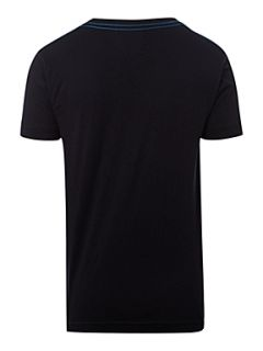 Fred Perry Boy`s short sleeved logo T shirt Navy
