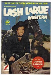 Lash LaRue Western 10 November 1950 FN NM High Grade