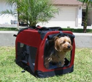 Large Dog Pet Collapsible Portable Soft Sided Crate