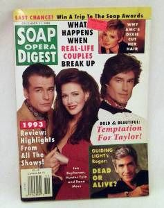 Soap Opera Digest 12 21 1993LAURA Leighton Roy Thinnes More