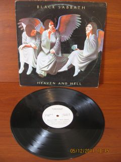 Black Sabbath Dio LP Heaven and Hell Press Colombia
