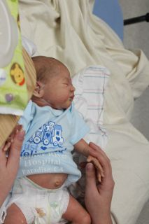 Reborn Baby Lincoln Prototype Laura Lee Eagles Born on This Day