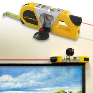 Laser Level Tape Measure Pro III by Totes