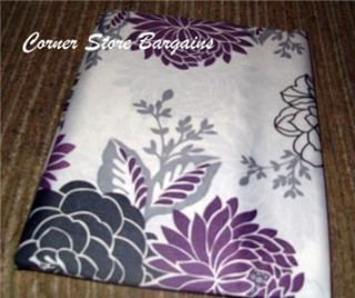 Waverly Fabric Shower Curtain Cheri Purple Shower Curtain New