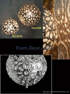 Large Round Acrylic Crystal Jewel Chandelier Wedding Event Party Decor