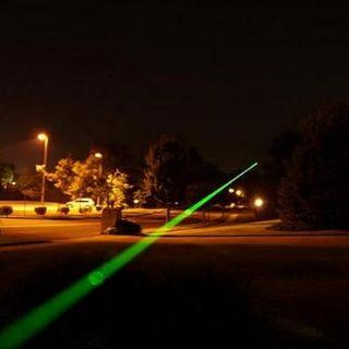 Military High Power Laser Pointer Pen Green Laser Adjustable Focus
