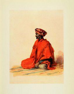 India Mohammedan Muslim Religion Costume Turban Lady Lawley