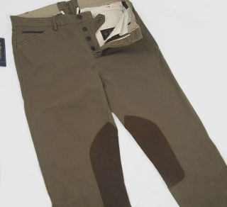 Polo Ralph Lauren Clubhouse Riding Breeches Pants 34 x 32 Harrods Sold