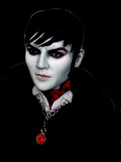 Collins Inspired Dark Shadows Portrait Doll Repaint by Laurie Leigh