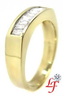 75 Ct Baguette Cut Diamond Wedding Anniversary Band