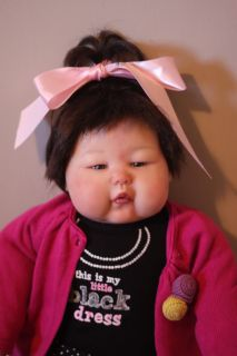 Reborn Baby Doll Toddler Ping Lau Masterpiece Dolls Asian