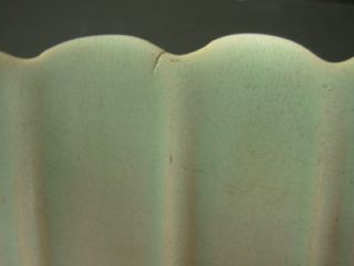 Weller Art Pottery Ohio Lavonia Pattern Matte Pastel Console Petal