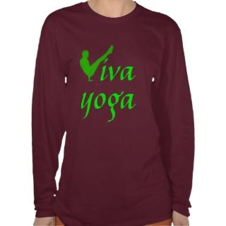 Viva Yoga   Long Sleeved Yoga Top T Shirts