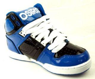 Osiris NYC 83 Kids Shoes Snorkle Black White