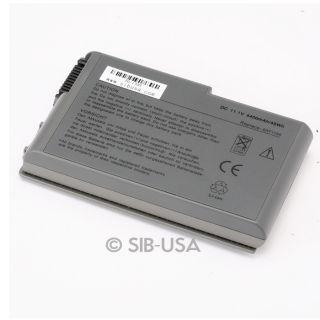 Battery for Dell Latitude D500 D510 D520 D530 D600 D610 PP05L PP10L