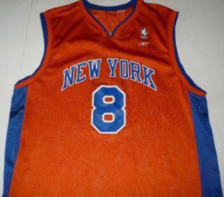Reebok Latrell Sprewell New York Knicks NBA Basketball Jersey Mens