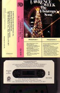 Lawrence Welk Canada Cassette The Christmas Song
