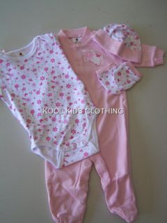 Baby Girls 5pc Layette Gift Set by Ladybird BNIP Various Sizes