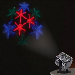 Lava Mini LED Projector Wall Mountable Strobe Disco DJ Party Light