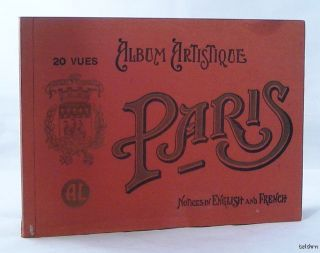 Paris 1920 20 Color Photogravure Plates Paris Architecture Landmarks