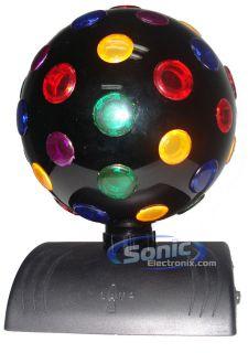 Lava Lite 1810 Multi Color 360 Degree Rotatable Disco Ball