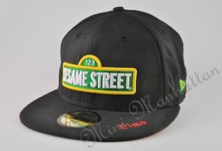 Sesame Street New Era Elmo Box Black Black 59FITY Fitted Cap