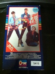 Grandview USA VHS Slip Patrick Swayze Jamie Lee Curtis Key Video 1984