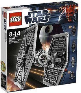 New Lego Star Wars Tie Fighter 9492 Legos Death Star Trooper Pilot R5