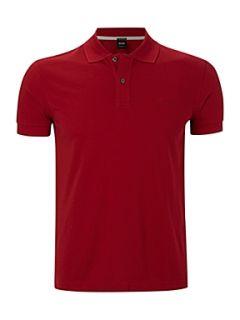 Hugo Boss Firenze logo polo shirt Republic Red