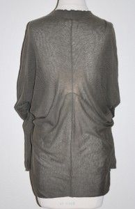 Margaret OLearys M O L Knits Moss Green Button Down Light Sweater