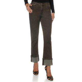 DG2 French Cuff Straight Leg Jeans Loden 24WP