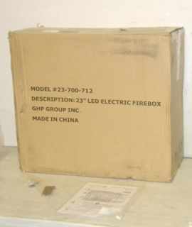 Pleasant Hearth 23 LED Electric Fireplace Insert 23 700 712