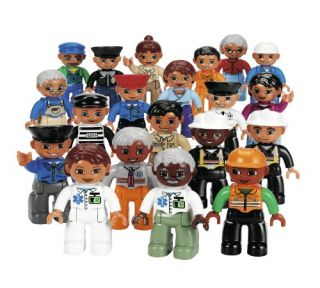 Features of LEGO Education DUPLO Community People Set 779224 (20