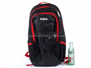 Nike Lebron James Courtster Backpack Sports Casual Red Black 2012