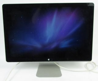 Apple LED Cinema Display 24 Widescreen LCD Computer Monitor Keyboard