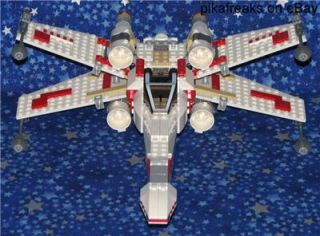 6212 Lego Star Wars x Wing Fighter Original Trilogy 437 Piece Play Set