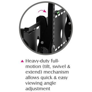 Tilting Wall Mount Bracket for 26 to 56 Flat Panel LCD LED TV