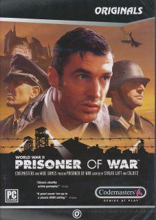 Prisoner of War World War II WW2 Adventure PC Game New 767649400430