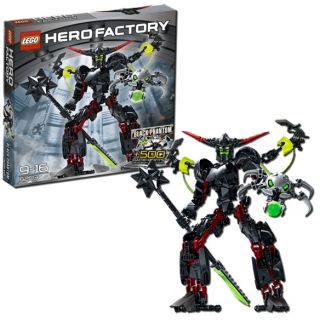 Lego Hero Factory Black Phantom   Brand New in Factory Sealed Package