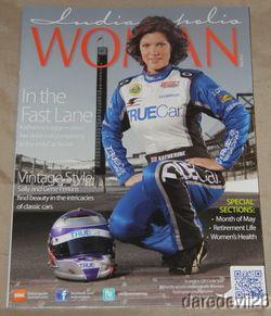 2012 Katherine Legge Indianapolis Woman Indy Car Magazine