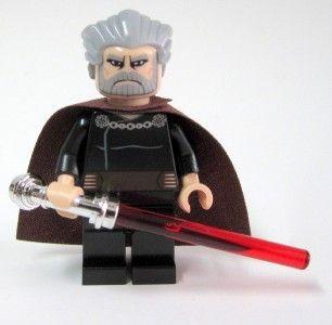 Lego 9515 Star Wars Clone Wars Count Dooku Minifigure Mint New